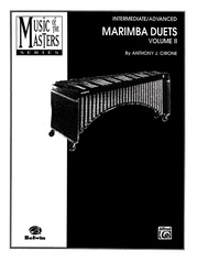 Music of the Masters, Volume II: Marimba Duets