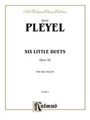 Six Little Duets, Opus 59