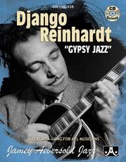 """Jamey Aebersold Jazz, Volume 128: Django Reinhardt """"Gypsy Jazz"""""""