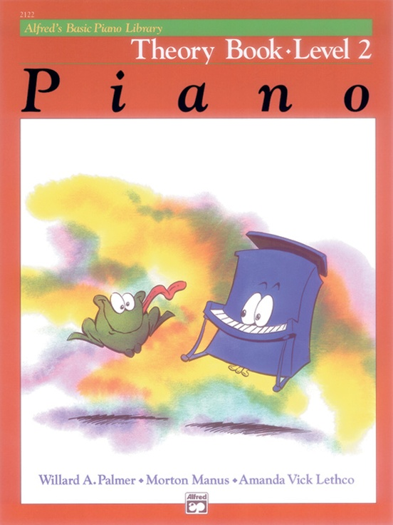 Alfred's Basic Piano Library: Theory Book 2