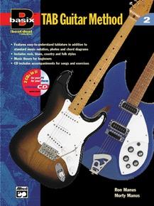 Basix®: TAB Guitar Method, Book 2