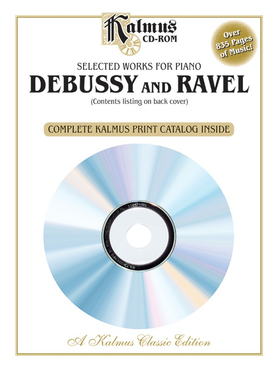 Selected Works for Piano: Debussy and Ravel