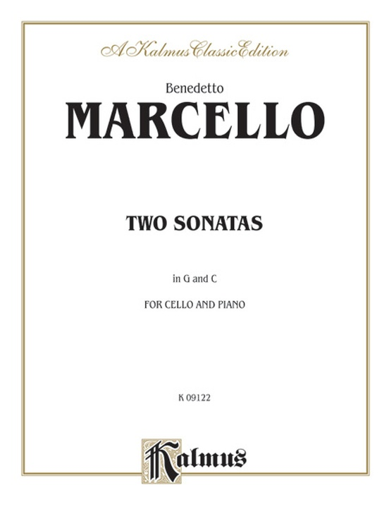 Two Sonatas in G and C
