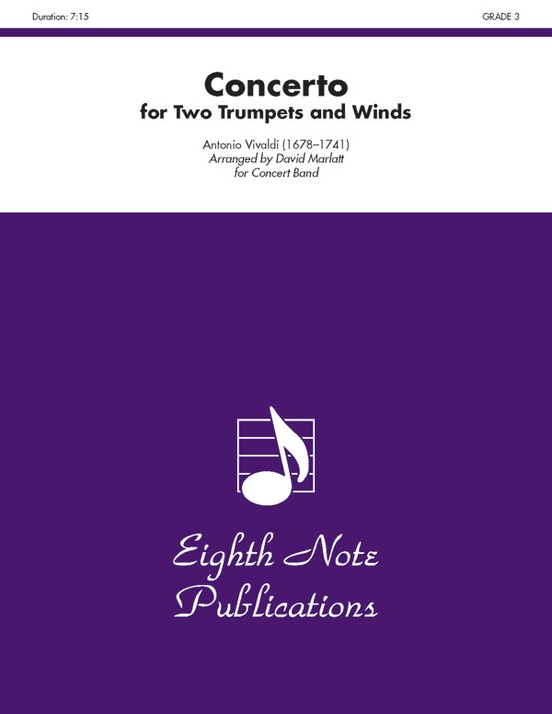 Concerto for Two Trumpets and Winds