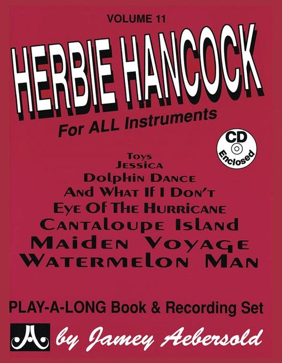 Jamey Aebersold Jazz Volume 11 Herbie Hancock Book Cd