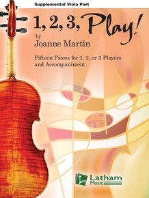 1, 2, 3, Play! - Supplemental Viola Part