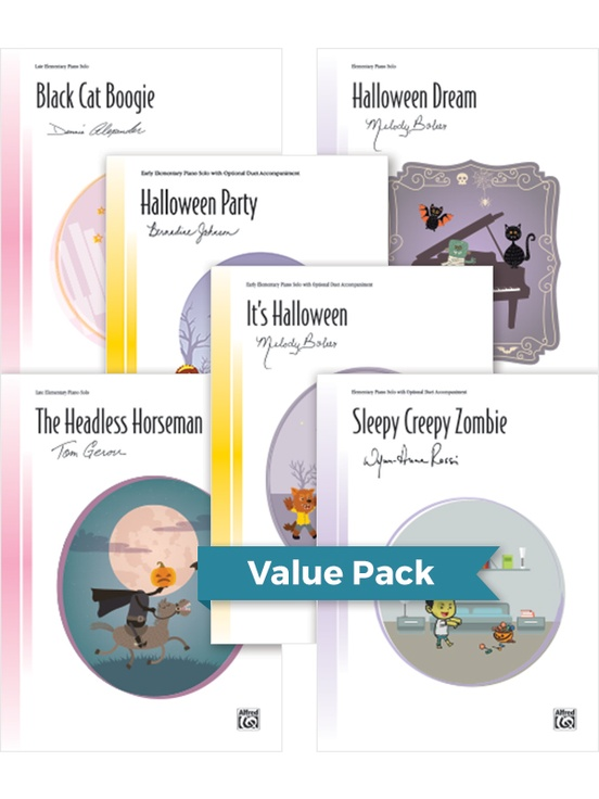 Halloween Sheet Solos