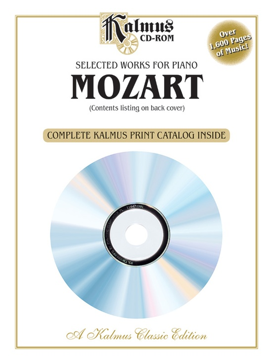 Selected Works for Piano: Mozart