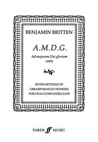 A.M.D.G. (Ad Majoram Dei Gloriam)