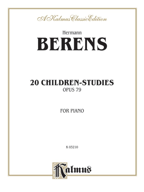 20 Children's Studies, Opus 79