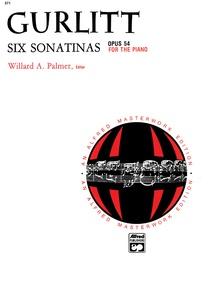 Gurlitt: 6 Sonatinas, Opus 54