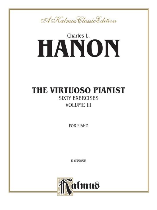 The Virtuoso Pianist, Volume III