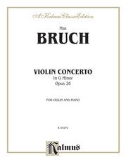 Violin Concerto in G Minor, Opus 26