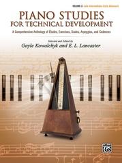 Piano Studies for Technical Development, Volume 2