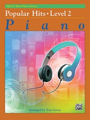 Alfred's Basic Piano Library: Popular Hits, Level 2