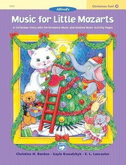 Music for Little Mozarts: Christmas Fun! Book 4