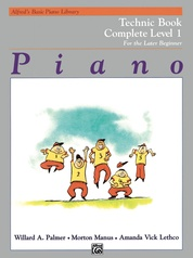 Alfred's Basic Piano Library: Technic Book Complete 1 (1A/1B)