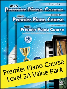 Premier Piano Course, Lesson, Theory & Performance 2A (Value Pack)