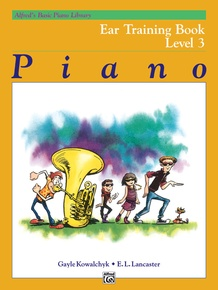Alfred's Basic Piano Library: Ear Training Book 3