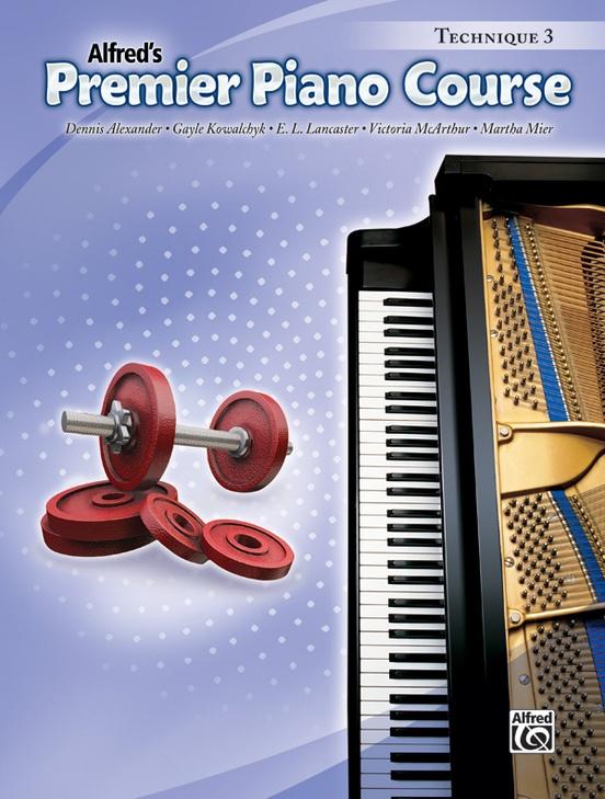 Premier Piano Course, Technique 3