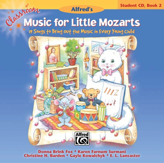 Classroom Music for Little Mozarts: Student CD Book 2