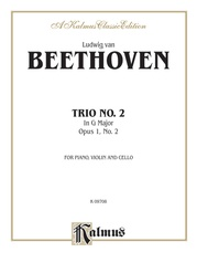 Piano Trio No. 2 - Opus 1, No. 2 in G Major