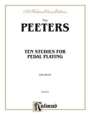 Ten Studies for Pedal Playing