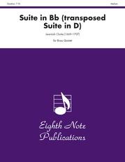 Suite in B-flat (transposed Suite in D)