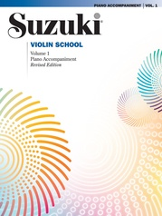Suzuki Violin School Piano Acc., Volume 1 (Revised)