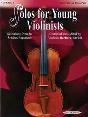 Solos for Young Violinists Violin Part and Piano Acc., Volume 4