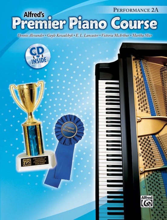 Premier Piano Course, Performance 2A