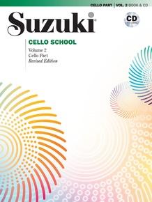 Suzuki Cello School Cello Part & CD, Volume 2 (Revised)