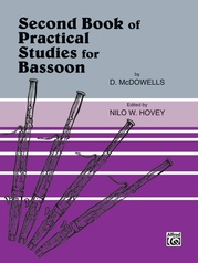 Practical Studies for Bassoon, Book II