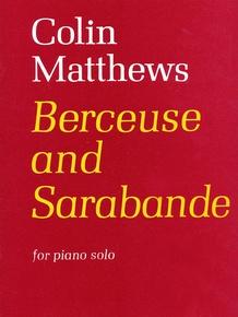 Berceuse and Sarabande