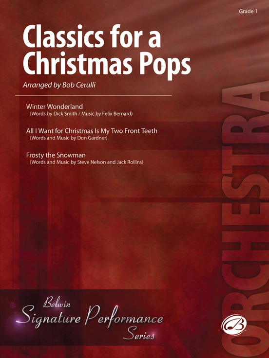 Classics for a Christmas Pops, Level 1