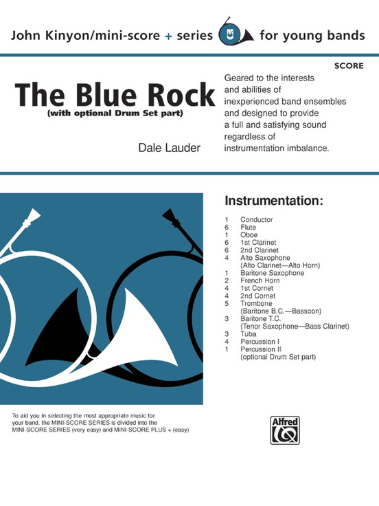 The Blue Rock (with optional Drum Set part)