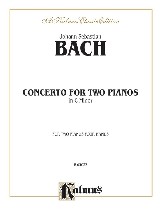 Concerto for Two Pianos in C Minor