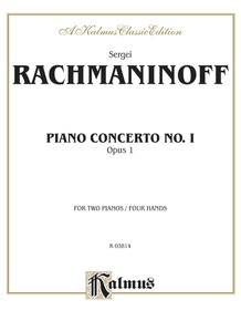 Piano Concerto No. 1 in F-sharp Minor, Opus 1