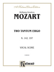 Two Tantum Ergos, K. 142 K. 197