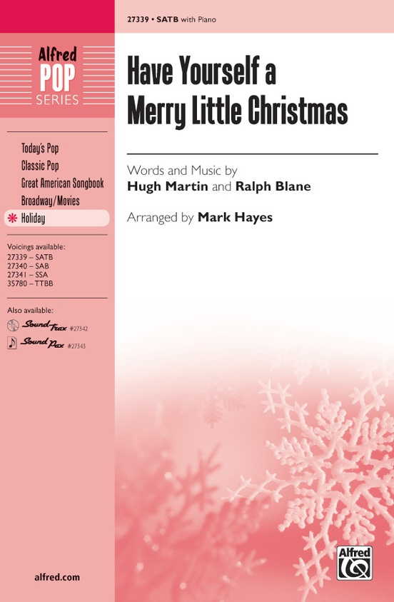 Merry Little Christmas Lyrics.Have Yourself A Merry Little Christmas