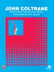 Improvised Saxophone Solos: John Coltrane