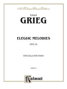 Elegiac Melodies, Opus 34