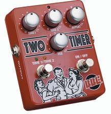 BBE Two Timer Dual Mode Delay Guitar Effects Pedal