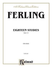 Eighteen Studies, Opus 12