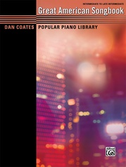 Dan Coates Popular Piano Library: Great American Songbook
