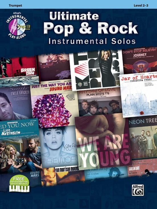 究極のポップ&ロック・ソロ曲集(トランペット)【Ultimate Pop & Rock Instrumental Solos】