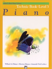Alfred's Basic Piano Library: Technic Book 3