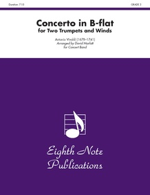 Concerto in B-flat for Two Trumpets and Winds