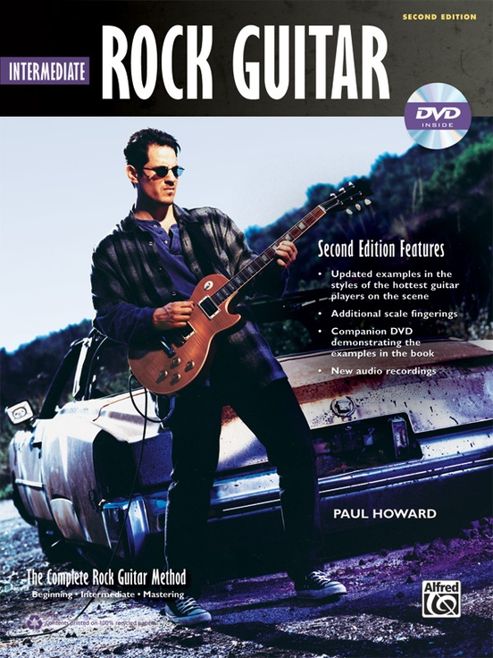 The Complete Rock Guitar Method: Intermediate Rock Guitar (2nd Edition)