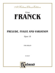 Prelude, Fugue and Variation, Opus 18